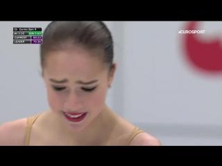 Слезы Загитовой после провала на Чемпионате мира
