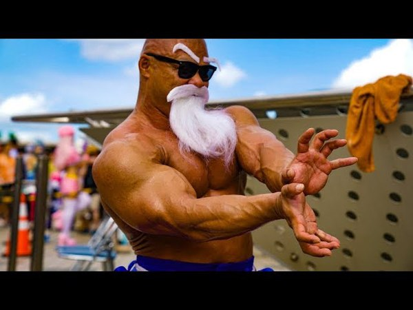 Unenviable Transformation For Master Roshi