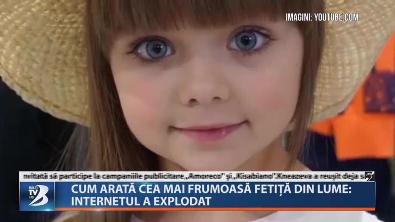 Cum arată cea mai frumoasă fetiță din lume: Internetul a explodat