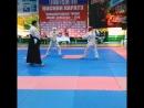 международный турнир по косики каратэ Я в красном шлеме