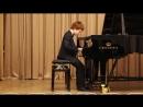 Коля Васин. Фортепиано. И. С. Бах. Менуэт . 10.02.2018