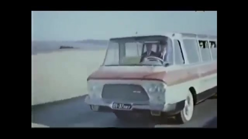 Автобусы в СССР - документальный фильм про советский союз