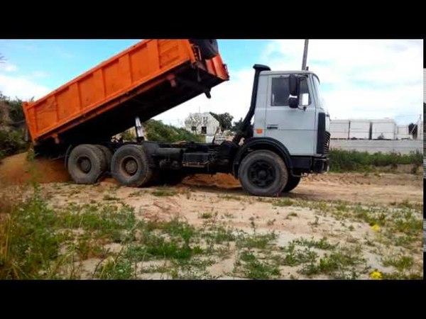 Услуги самосвала 20т в Гродно 375292664127 доставка песка,гравия,чернозема