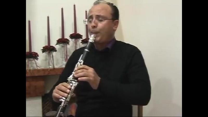 Каприччио № 24. (Паганини).Clarinet Prof.Massimiliano Montanaro.