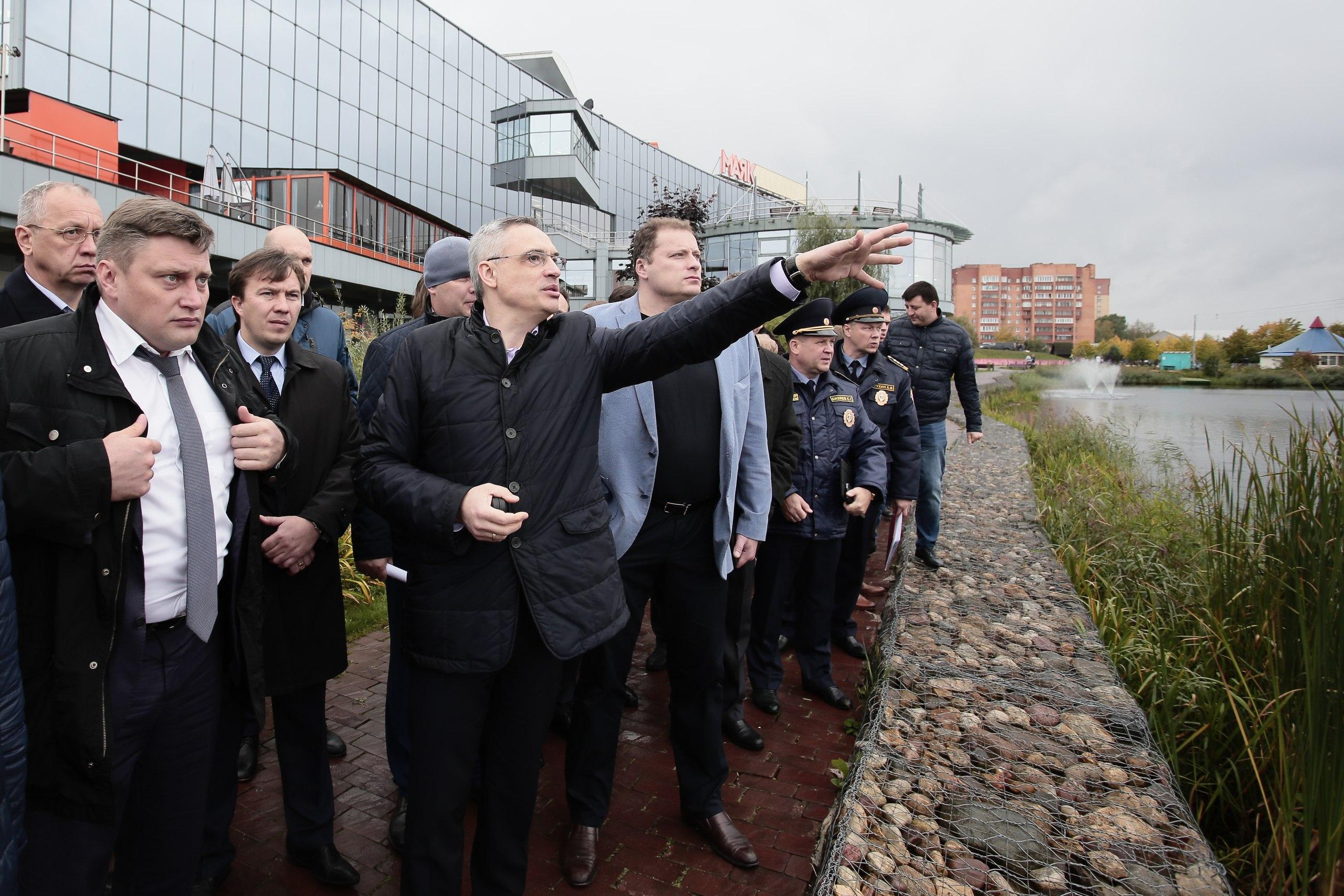В Дубну с проверкой приезжал заместитель председателя правительства региона