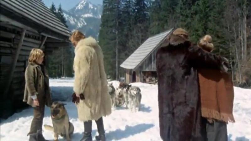«Возвращение Белого Клыка» (1974) - драма, приключения, фильм о животных. Реж. Лучио Фульчи