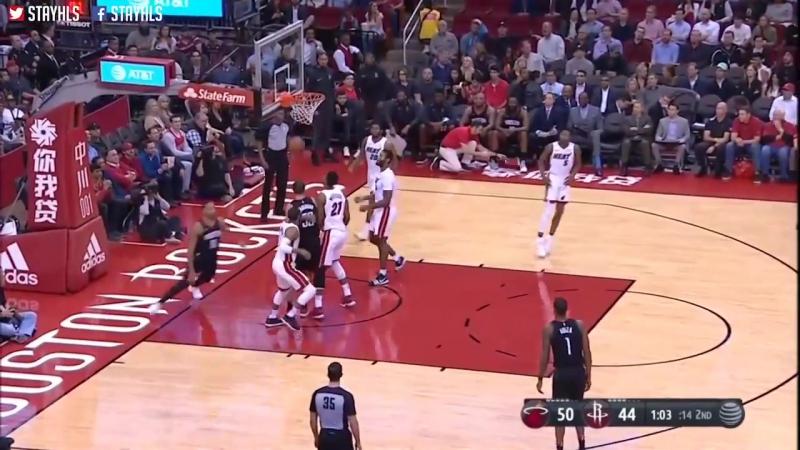 Houston Rockets vs Miami Heat Full Game Highlights _ Jan 22 _ 2017-18 NBA Season