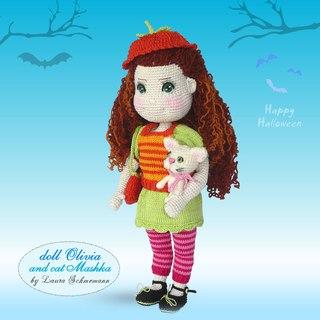 вязаные куклы и игрушки вконтакте