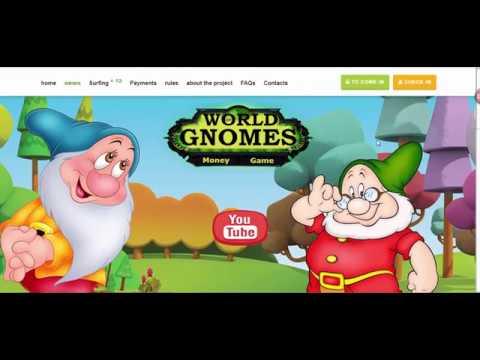 World of gnomes - موقع عالم الأقزام الجديد يعطيك 10 روبل هد16
