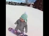 Маленькая спортсменка
