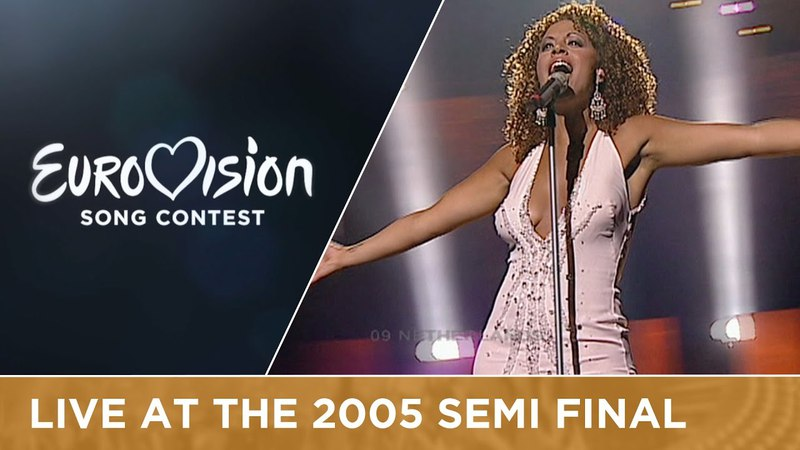 Glennis Grace - My Impossible Dream (The Netherlands) Live - Eurovision 2005