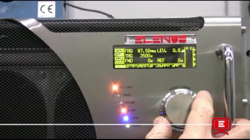 Elenos ETG 3500 - FM Transmitter Power Test