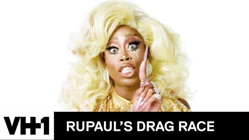 Monique Heart Is Opulent Dripping in Gold | RuPaul's Drag Race Season 10