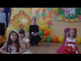 Танец Цветов и Бабочек! Моя - Розовая Бабочка! Последний осенний утренник в детском саду...Немного грустно...
