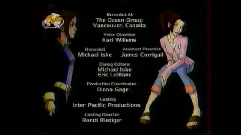 Титры мультсериала Люди Икс. Эволюция (СТС, 2002)