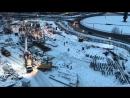 Ход строительства 2 очереди ЖК PARUS, Северодвинск
