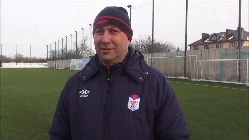 Андрей Черенков: На данный момент ребята показывают неплохой уровень футбола