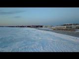 Entire Ocean Frozen, CRAZY! (Drone View)