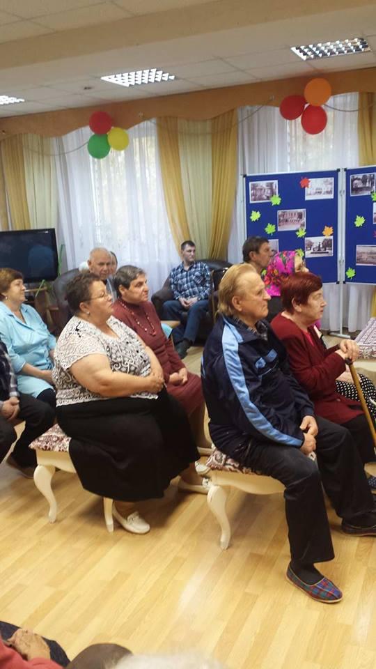 Волонтеры Территория добра посещали Выксунский дом престарелых