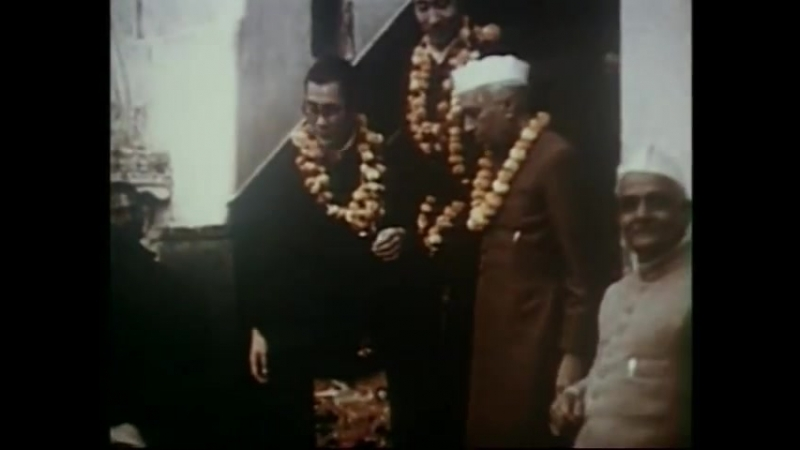 H. H. the Dalai Lama Visit to India 1956 -57