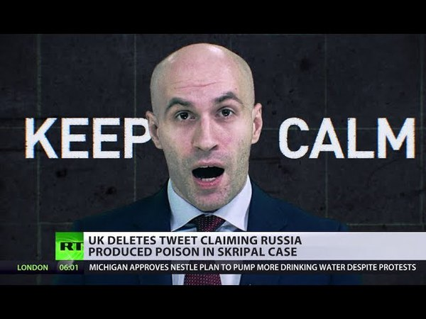 KEEP CALM BACKPEDAL: UK FOREIGN OFFICE DELETES TWEET ON RUSSIA PRODUCING NERVE AGENT.
