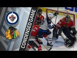 Winnipeg Jets vs Chicago Blackhawks March 29, 2018 HIGHLIGHTS HD