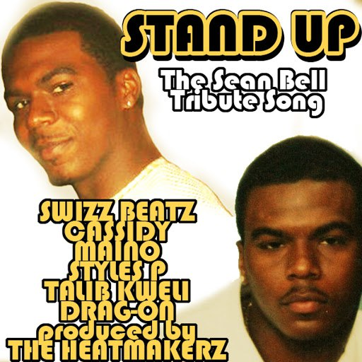 Swizz Beatz альбом Stand Up - The Sean Bell Tribute Song