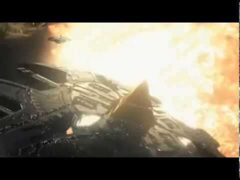 Звездные врата: Вселенная - нападение союза на планету с наквадахом. Stargate: universe