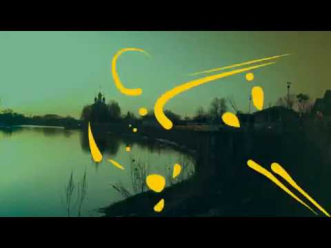 Закат солнца в селе Холуй на реке Теза 2 ч 09.04.18г