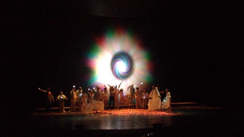 Театр студия Параллельный мир спектакль Ангелы живут среди нас Лариса и Олег Чичко