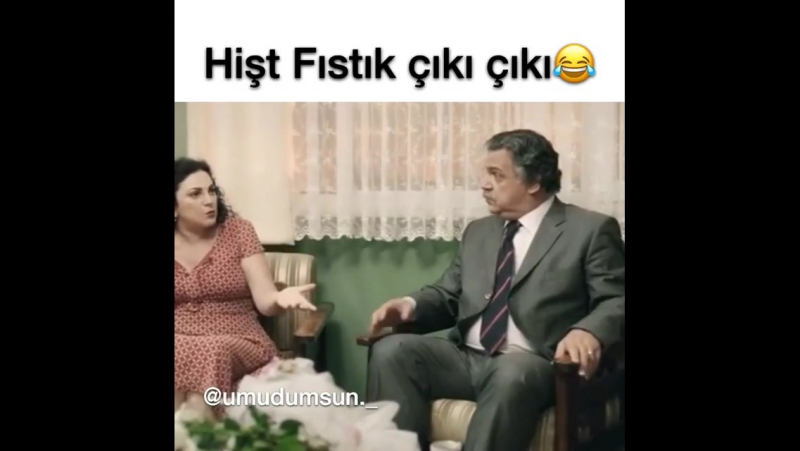 Hey, fistik 😂