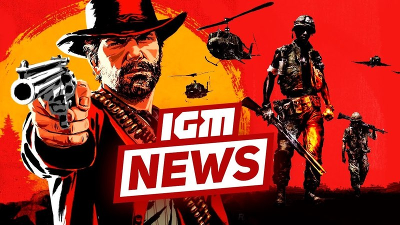 IGM News: подробности Red Dead Redemption 2 и Battlefield: Bad Company 3