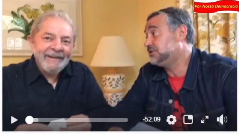 Lula pelo Sul, em papo descontraído com Paulo Pimenta: Princesa repetiu feijoada 3 vezes.