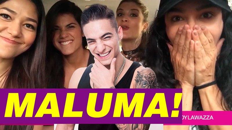 Maluma!! y las divas con Yudy Arias!