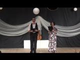 Открытие отчётного концерта образцового ансамбля танца