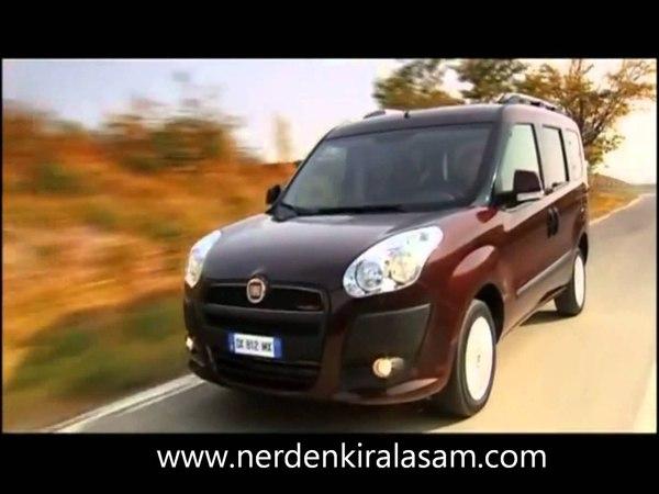 Kiralık Fiat Doblo Fiat Doblo For Rent in Turkey