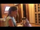 Варя издевается над котом