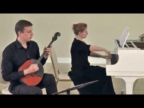 Efrem Podgaits Suite for domra alto piano Ефрем Подгайц Сюита для альтовой домры и фортепиано