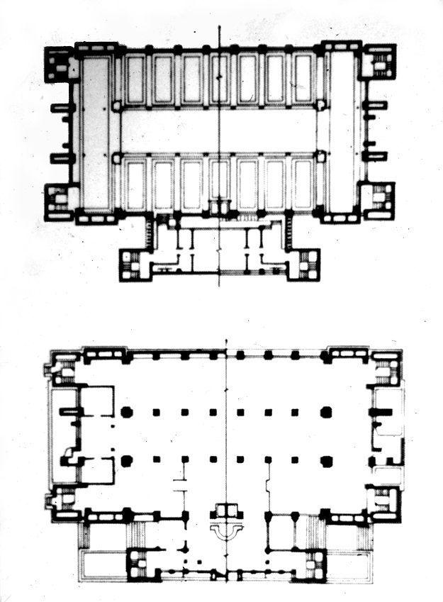 Frank Lloyd Wright / Larkin administrative building in Buffalo, NY