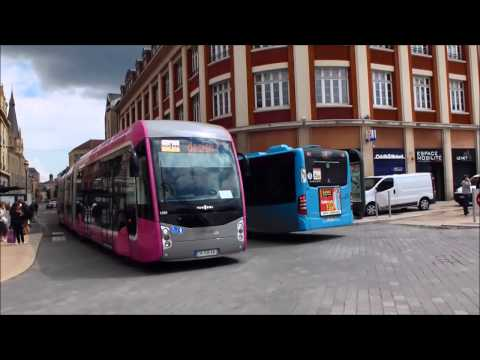 Essais METTIS - Van Hool Exquicity 24 Hybride Place de la République à Metz