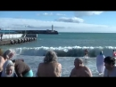 🔴 Yalta. Swimming in the winter sea and real emotions! The People Of Yalta. Crimea 2018