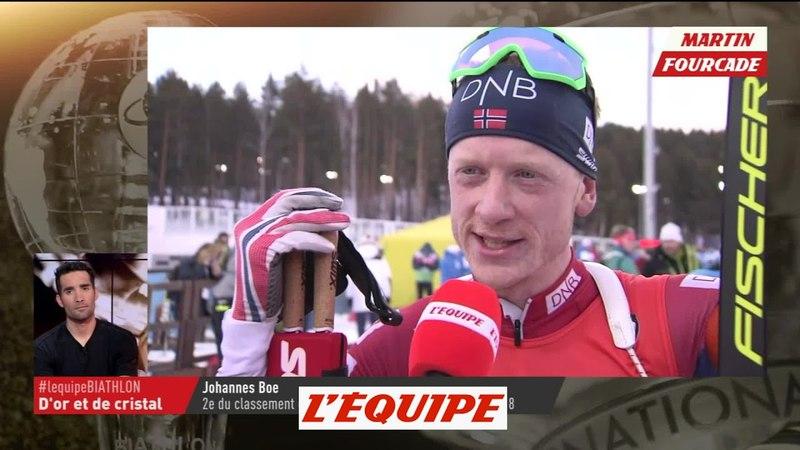 L?hommage de J. Boe à M. Fourcade - Biathlon - Soirée spéciale