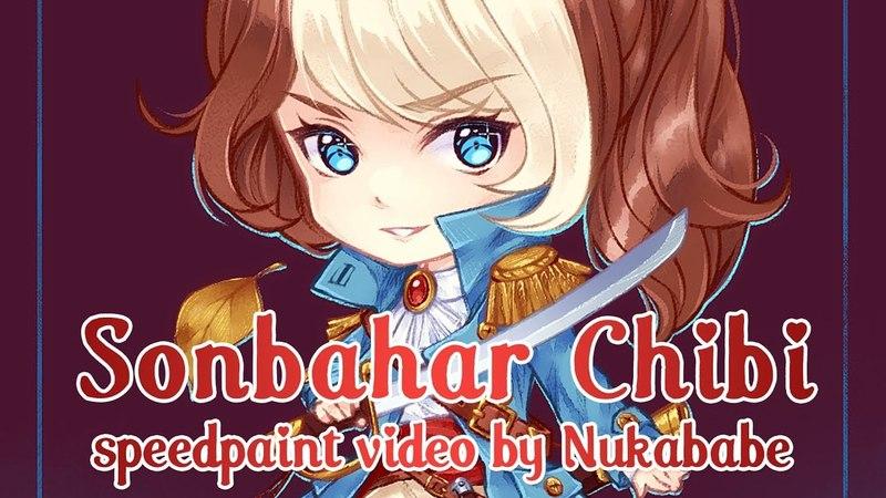 Sonbahar Chibi [Paint Tool SAI] Speedpaint by Nukababe [Patreon Learning Pack 14]