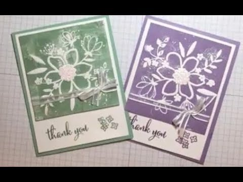 Share What You Love Lovely Floral Thank You Card