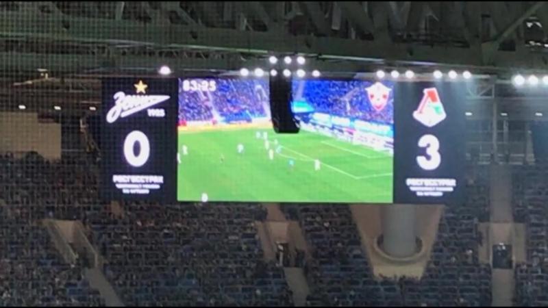 РФПЛ. Зенит - Локомотив (Обзор матча)