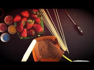 Букет из клубники в шоколаде от Art-cvetok
