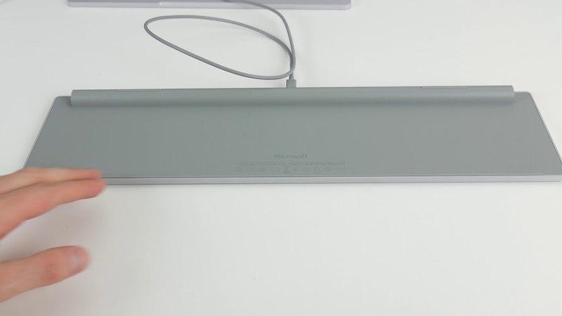 Ausgepackt angefasst: Microsoft Modern Keyboard mit Fingerabdruck-ID