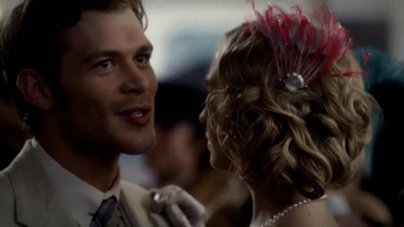 ⚜️TVD Дневники вампира Клаус и Керолайн на школьных танцах