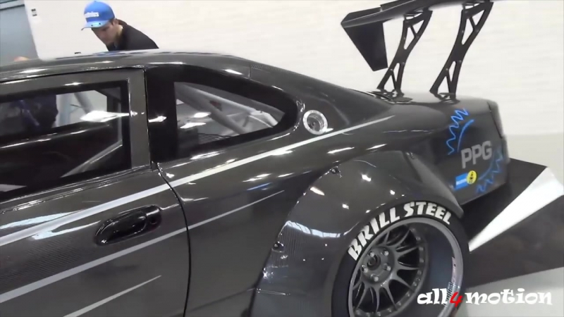 Brill Steel Carbon V8 S14.5 - huge Bodykit - based on a Nissan 200SX S14 - Walk