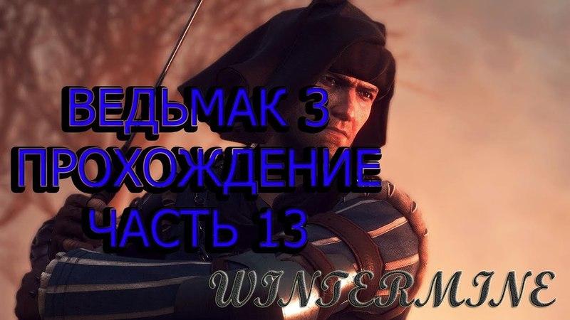 Ведьмак 3: Дикая охота Прохождение часть 13 (The Witcher 3: Wild Hunt)